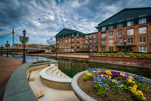 Downtown Frederick is less than an hour from our Frederick senior living community.