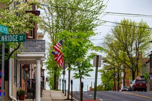 The streets of Gettysburg, just a short distance from our retirement community in Gettysburg.